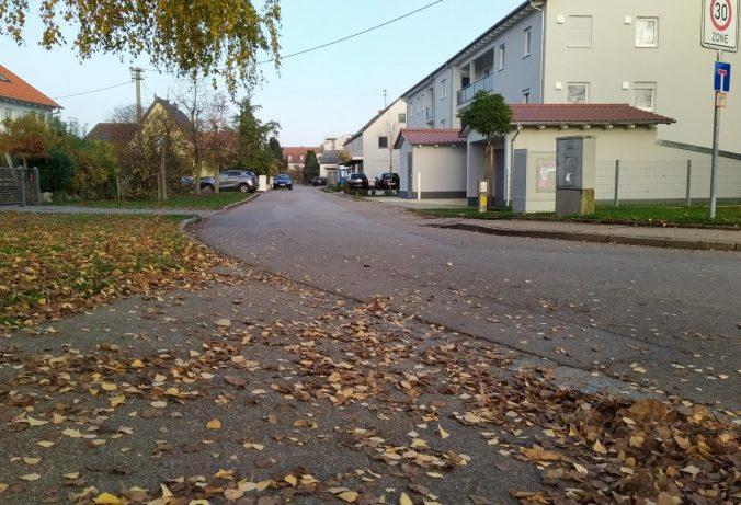 Blick in die Mendelstraße